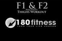 Get Fit! with 180 Fitness: F1 & F2 Machines