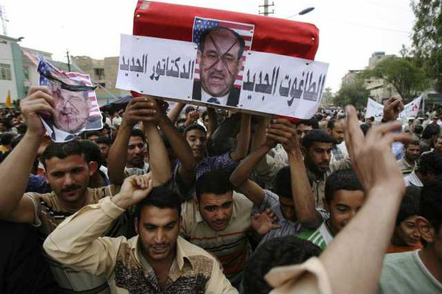 IRAQ PROTEST BAG120 5613630