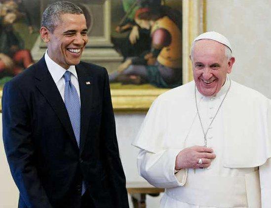 Obama US Vatican Heal
