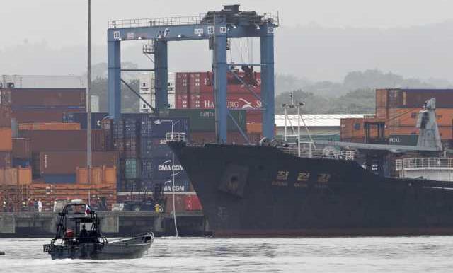 Panama Ship Seized Werm