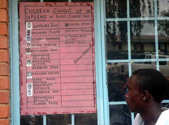 Uganda School Fire 5664728