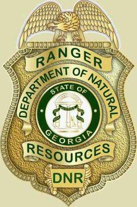 W DNR Ranger Badge