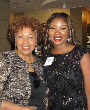 Janice Laws with Liz Johnson