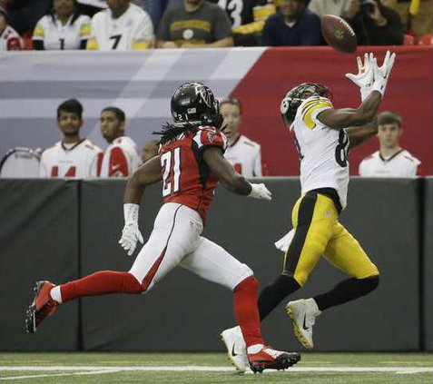 Steelers Falcons Foot Heal