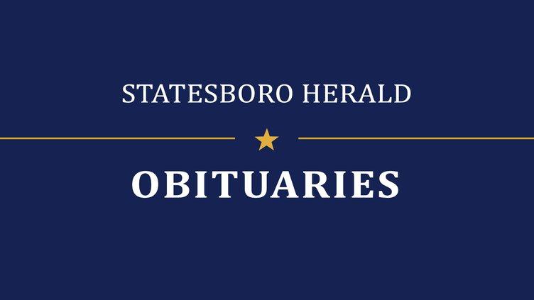 Marie Dickey Peavy Statesboro Herald